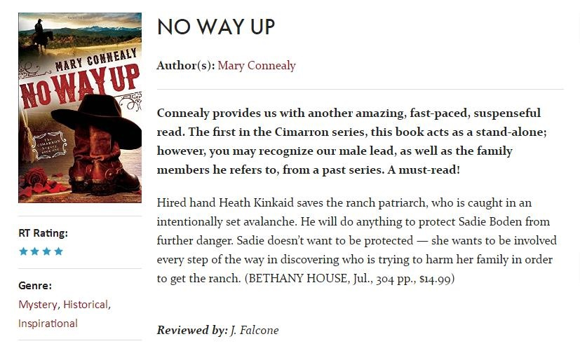 NO WAY UP RT Review