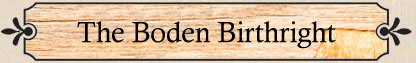 The Boden Birthright_title